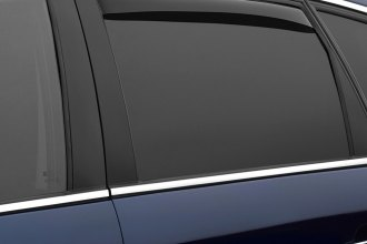 WeatherTech® 81467 - Dark Smoke Rear Side Window Deflectors