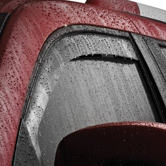 WeatherTech® - Dark Smoke Rear Window Deflectors