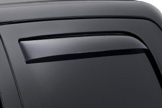 WeatherTech® 81503 - Dark Smoke Rear Side Window Deflectors
