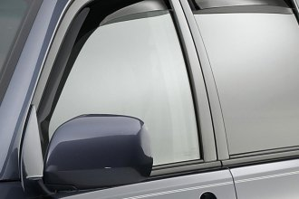 WeatherTech® 82271 - Dark Smoke Front and Rear Side Window Deflectors