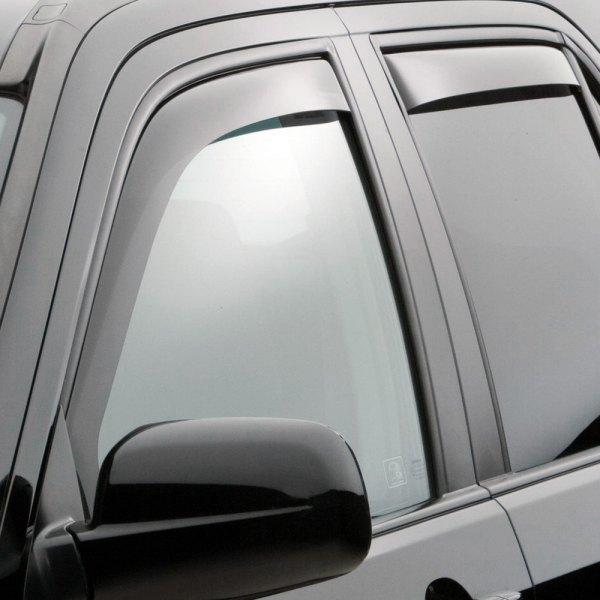 Weathertech honda cr v 2002 2006 dark smoke side window for 2002 honda civic rear window visor