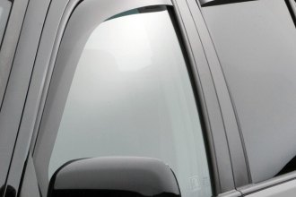 WeatherTech® 82296 - Dark Smoke Front and Rear Side Window Deflectors