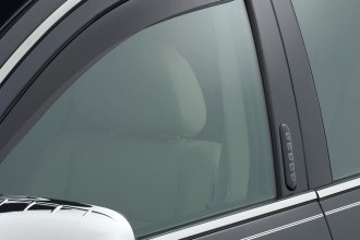 WeatherTech® 82375 - Dark Smoke Front and Rear Side Window Deflectors