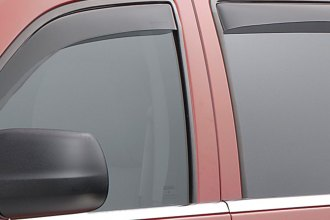 WeatherTech® 82380 - Dark Smoke Front and Rear Side Window Deflectors
