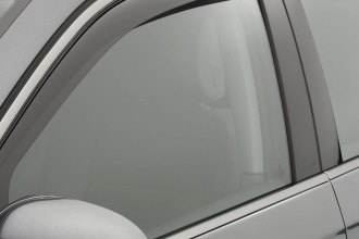 WeatherTech® 82398 - Dark Smoke Front and Rear Side Window Deflectors