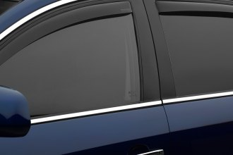WeatherTech® 82403 - Dark Smoke Front and Rear Side Window Deflectors