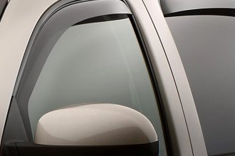 WeatherTech® 82426 - Dark Smoke Front and Rear Side Window Deflectors