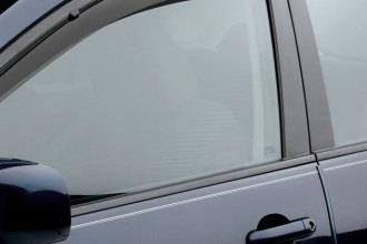 WeatherTech® 82441 - Dark Smoke Front and Rear Side Window Deflectors