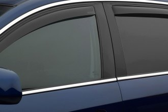 WeatherTech® 82445 - Dark Smoke Front and Rear Side Window Deflectors