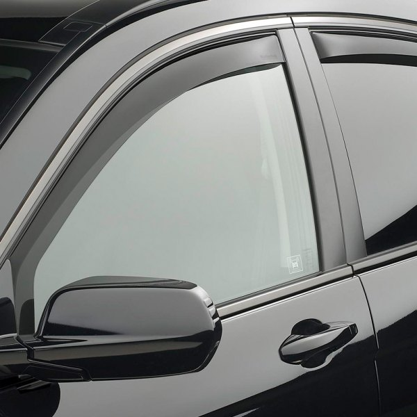 WeatherTech® - Dark Smoke Front and Rear Window Deflectors