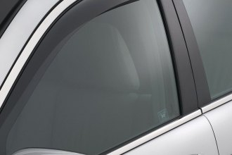 WeatherTech® 82474 - Dark Smoke Front and Rear Side Window Deflectors