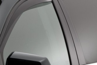 WeatherTech® 82499 - Dark Smoke Front and Rear Side Window Deflectors