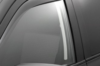 WeatherTech® 82503 - Dark Smoke Front and Rear Side Window Deflectors