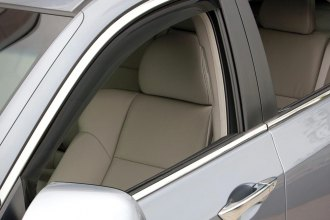 WeatherTech® 82505 - Dark Smoke Front and Rear Side Window Deflectors