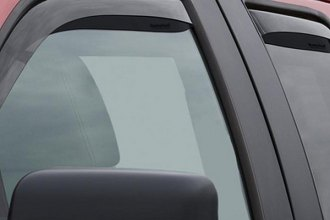 WeatherTech® 82697 - Dark Smoke Front and Rear Side Window Deflectors