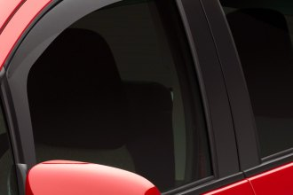 WeatherTech® 82714 - Dark Smoke Front and Rear Side Window Deflectors