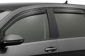 WeatherTech® 82721 - Dark Smoke Front and Rear Side Window Deflectors