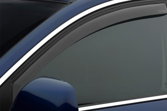 WeatherTech® 82761 - Dark Smoke Front and Rear Side Window Deflectors