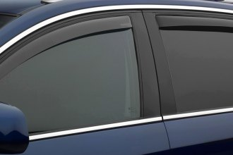 WeatherTech® 82769 - Dark Smoke Front and Rear Side Window Deflectors