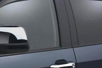 WeatherTech® 84450 - Dark Smoke Front and Rear Side Window Deflectors