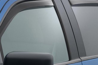 WeatherTech® 84697 - Dark Smoke Front and Rear Side Window Deflectors