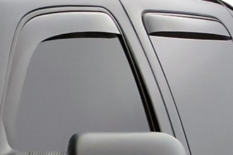 WeatherTech® 87184 - Dark Smoke Rear Side Window Deflectors