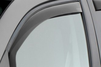 Image may not reflect your exact vehicle! WeatherTech® - Dark Smoke Front Window Deflectors