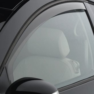 Image may not reflect your exact vehicle! WeatherTech® - Light Smoke Front Window Deflectors