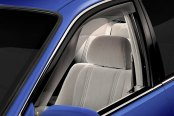 Image may not reflect your exact vehicle! WeatherTech® - Window Deflectors - Front, Light Smoke
