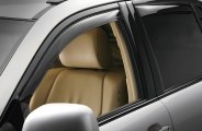 WeatherTech® 82470 - Dark Smoke Front and Rear Side Window Deflectors