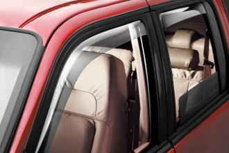 WeatherTech® 72466 - Light Smoke Front and Rear Side Window Deflectors