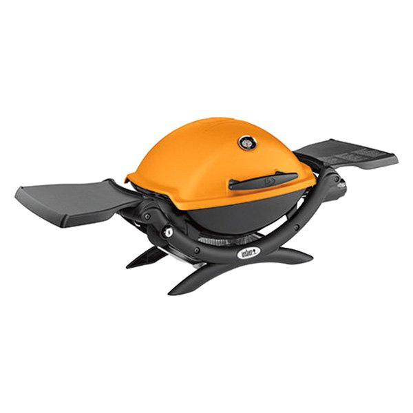 weber 51190001 orange q 1200 portable propane grill. Black Bedroom Furniture Sets. Home Design Ideas
