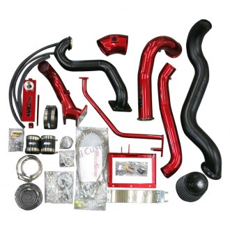 Wehrli Custom Fabrication® - S400 Over Stock Series Twin Turbo Install Kit