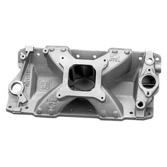 Weiand® - Team G Satin Carbureted Cast Intake Manifold