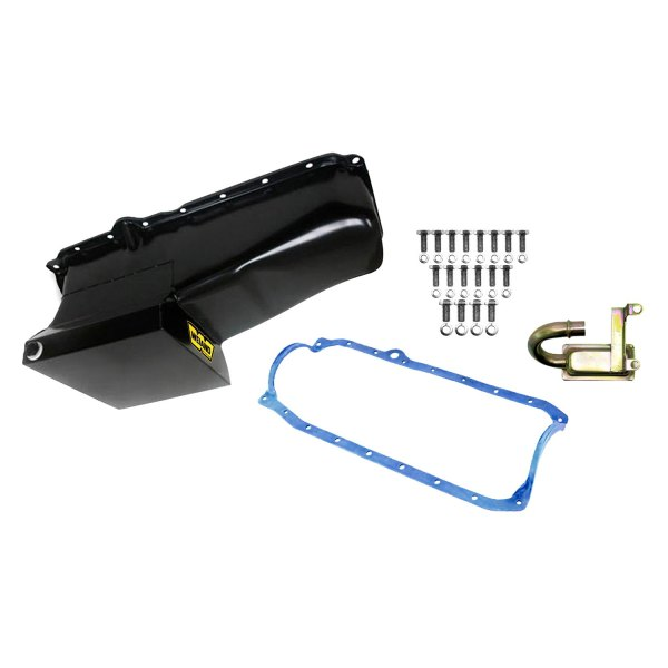Weiand® - Drag Black Oil Pan Kit