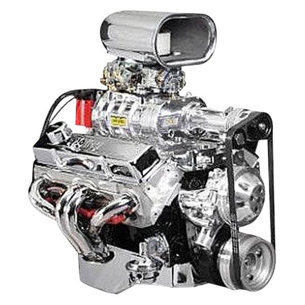 Opala V8 Supercharger: 142 Blower Pro-Street™ Satin Supercharger Kit