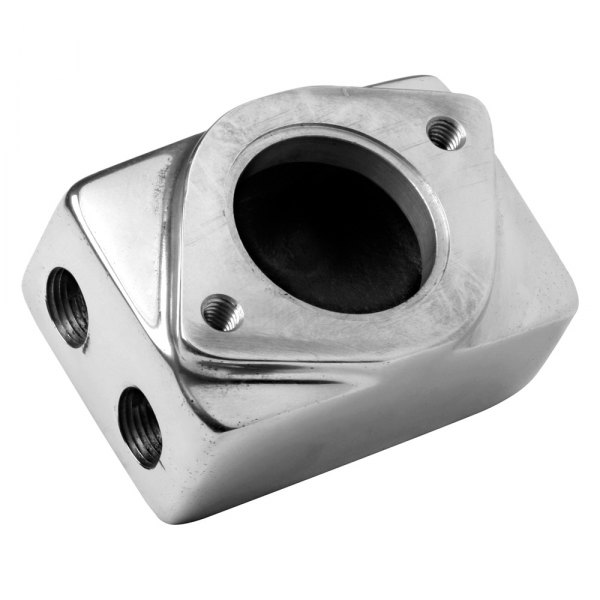 Weiand® - 6-71/8-71 Polished Supercharger Remote Thermostat Housing