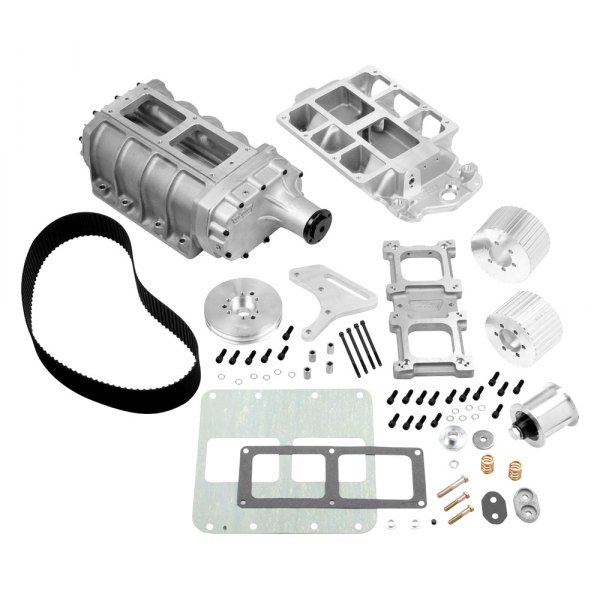 Weiand® - 6-71 Street Polished Supercharger Kit