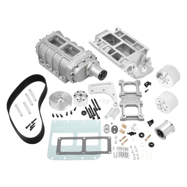 Weiand® - 6-71 Street Satin Supercharger Kit
