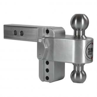 "Weigh Safe® - Class 5 180 Hitch Adjustable Dual Ball Mount for 2-1/2"" Receivers"