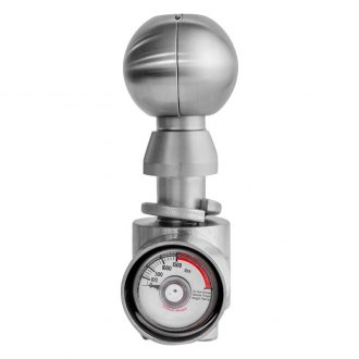 "Weigh Safe® - 2"" Stainless Steel Tow Ball w/o Clam Shell Adapter"
