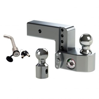 "Weigh Safe® - Class 5 Adjustable Ball Mount with Keyed Alike for 2-1/2"" Receivers"