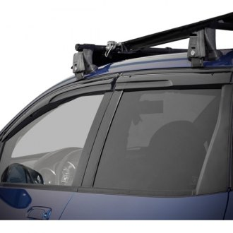 WELLvisors® - Tape-On Aerodyn Series Smoke Front and Rear Side Window Deflectors