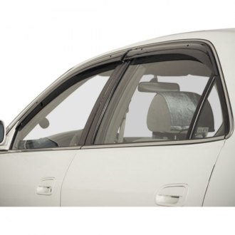 WELLvisors® - Tape-On Premium Series Smoke Side Window Deflectors