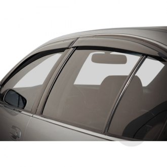 WeatherTech Custom Fit Front /& Rear Side Window Deflectors for Lexus GS 300 Light Smoke