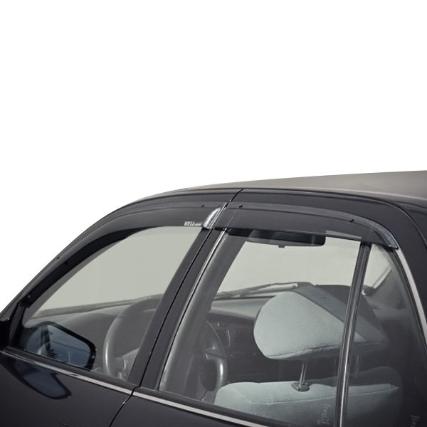 Wellvisors Rain Sun Wind Deflectors For Toyota Camry 1992-1996 Window Visors