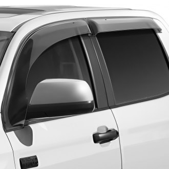 WELLvisors® - Tape-On Off-Road Series Smoke Side Window Deflectors
