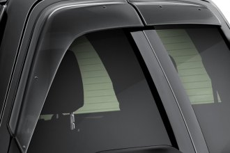 WELLvisors® - Premium Series Smoke Side Window Deflectors