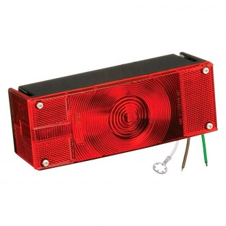 "Wesbar® - Over 80"" Low Profile Tail Light with Stripped Leads"