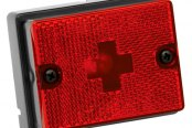 Wesbar® - Red Side Marker/Clearance Light